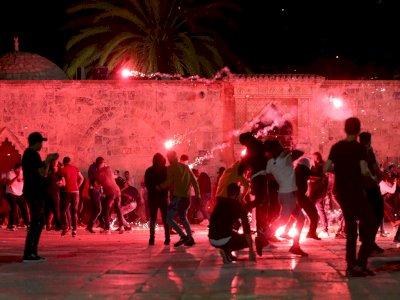 Warga Palestina Ditembak Polisi Israel di Al-Aqsa, Wamenag: Indonesia Berdiri di Belakang!