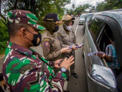 Mudah, Ternyata Begini Cara Petugas Membedakan Mana Kendaraan akan Mudik dan Bukan