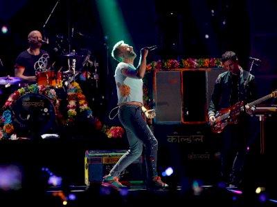 Garap Album Baru di Tengah Pandemi, Coldplay Takut  Masuk Penjara