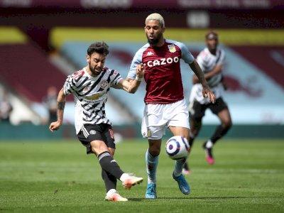 Aston Villa VS Manchester United: Setan Merah Tertinggal di Babak Pertama