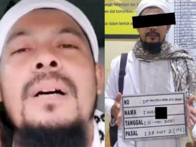 Sosok Pria Bersorban Ajak Terobos Penyekatan, Ternyata Wahid Mantan Pembesar FPI Aceh