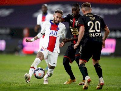FOTO: Liga Prancis, Rennes Tahan Imbang PSG 1-1