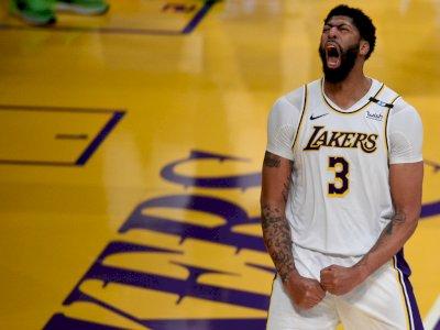 FOTO: Los Angeles Lakers Kalahkan Phoenix Suns 123-110