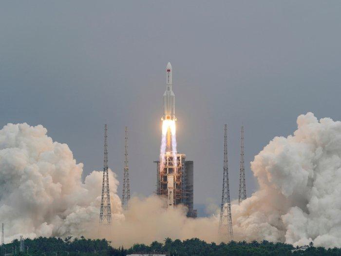 NASA Terkait Jatuhnya Roket Long March 5B: Tiongkok Gagal Penuhi Standar