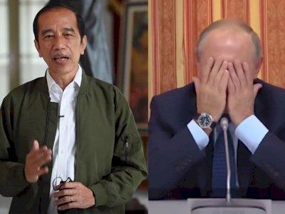Jokowi Promosi Makan Bipang, Putin Pernah Tertawai Menterinya Mau Kirim Babi ke Indonesia
