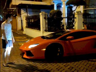Detik-detik Keributan Warga Komplek vs Pengemudi Lamborghini Arogan, Malam Geber Mobil