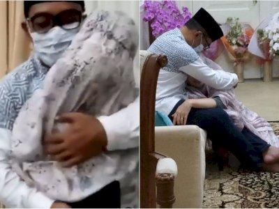 Momen Haru Ridwan Kamil Peluk Istri yang Sembuh dari Covid-19 Usai 21 Hari Isolasi