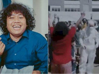 Marshel Widianto Pindah ke Wisma Atlet Gegara Bosan di RS, Seru-seruan Bareng Warga Wisma