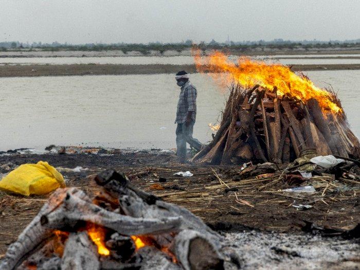Mayat-mayat Mengambang di Sungai Gangga 'Hantui' Rakyat India