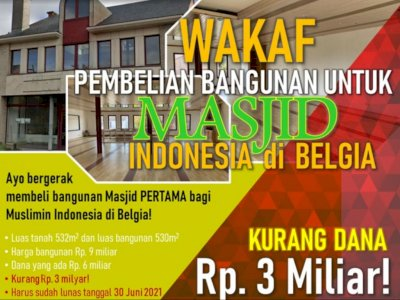Addie MS hingga Kang Maman Galang Dana untuk Bangun Masjid Indonesia Pertama di Belgia
