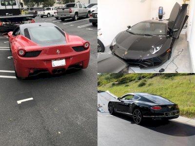 Pria Ini Beli Mobil Ferarri, Bentley, & Lamborghini dari Dana Bantuan Covid-19 Pemerintah