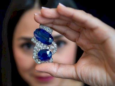 Batu Safir Kashmir Langka yang Pernah Dipakai Putri Napoleon Dilelang, Diperkiaran Rp21 M