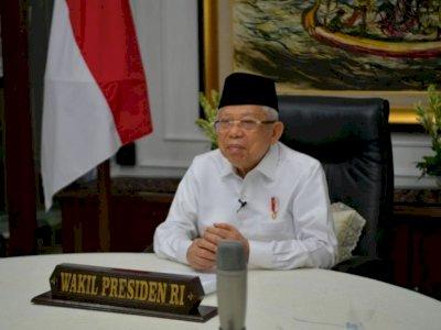 Wapres Ma'ruf Amin Akan Laksanakan Salat Idul Fitri di Rumah Dinas