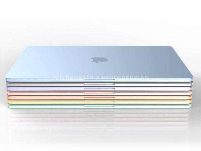 Begini Prediksi Tampilan MacBook Air Baru Jika Hadir dengan Banyak Warna!