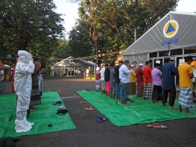 FOTO: Shalat Idul Fitri di RS Lapangan Indrapura