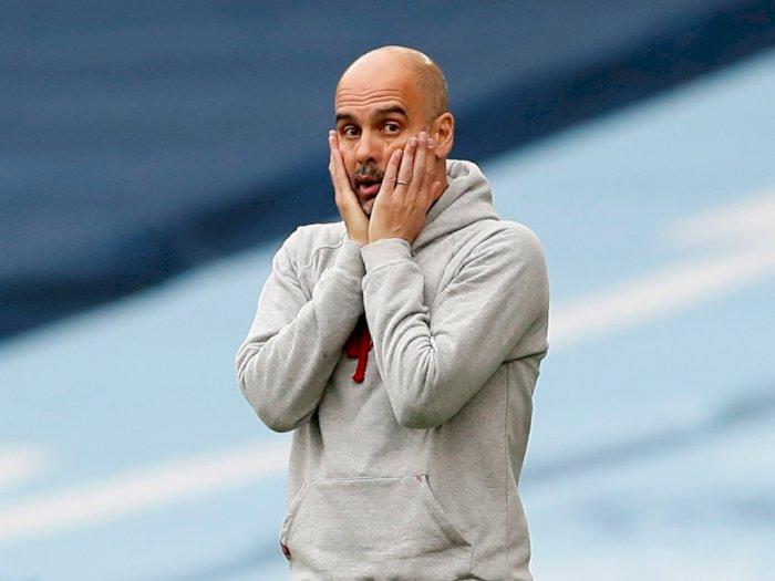 Manchester City Juara Liga Inggris, Guardiola: Kami Rayakan dengan Makan Pizza