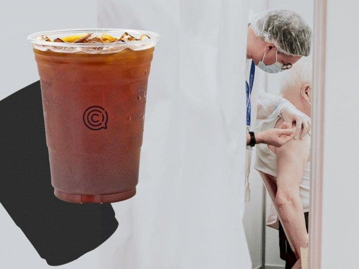 Cafe Ini Menawarkan Minuman Gratis ke Warga Lokal yang Telah Divaksinasi