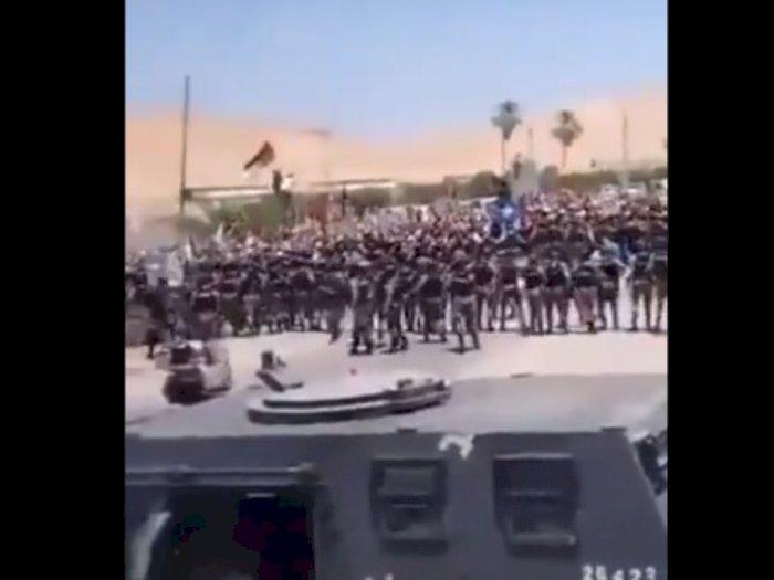 Protes Agresi Israel, Ribuan Masyarakat Yordania Tiba di  Wilayah Perbatasan Palestina