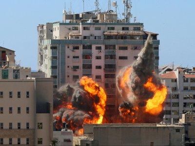 Imbas Konflik, Gedung Kantor Berita AP dan Al Jazeera di Gaza Dihantam Misil Israel
