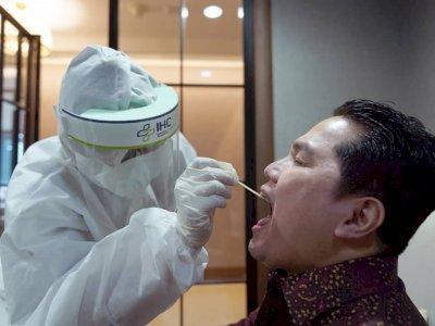 Menteri BUMN Perintahkan Susun SOP Lindungi Masyarakat Saat Gunakan Rapid Test Antigen