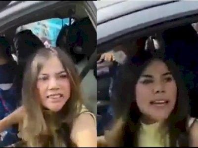 Mau ke Anyer, Wanita Ini Ngamuk karena Disetop, Sebut Kata 'Bacot' ke Petugas Penyekatan