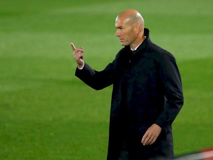 Disebut Sudah Pamit dengan Para Pemain, Zidane Bilang Begini