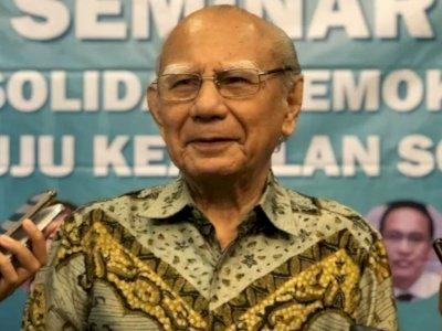 Eks Menteri Era Soeharto Bicara Soal Korupsi, 'Tanpa Moral Sulit Bangun Negara Pancasila'
