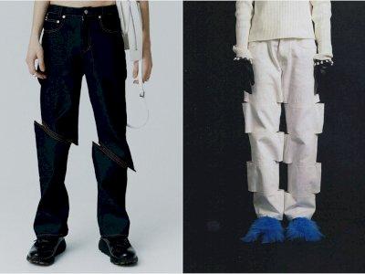 Brand Pakaian Korsel Ini Menjual Jeans dengan Desain Unik, Netizen Bingung Melihatnya