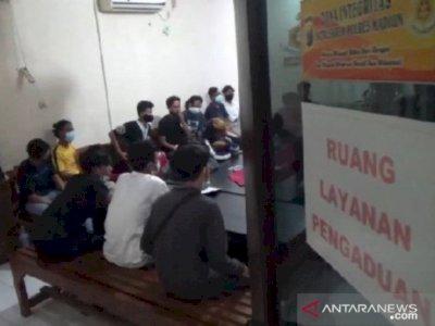 Polsi Amankan 17 Warga di Madiun Karena Terbangkan Balon Udara
