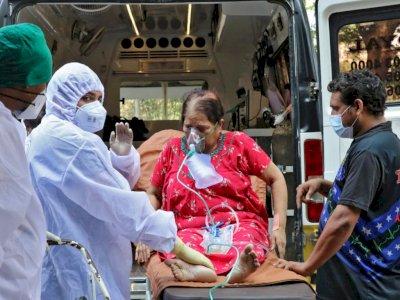 Rekor Tertinggi, 4.329 Orang Meninggal Akibat Covid-19 di India Hari Ini