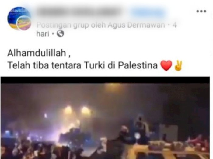 Tentara Turki Tiba di Palestina? Fakta Sebenarnya Tak Disangka