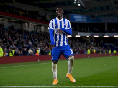 FOTO: Liga Inggris, Brighton Kalahkan Manchester City 3-2