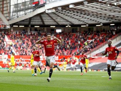 Babak Pertama, Manchester United VS Fulham Tuntas 1-0
