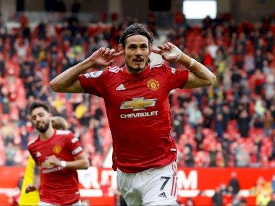 FOTO: Liga Inggris, Manchester United vs Fulham 1-1