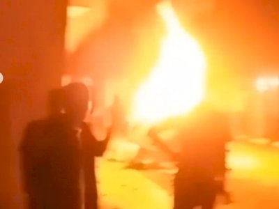 Kronologi Pembakaran Polsek Candipuro, Massa Sempat Ingin Temui Kapolsek
