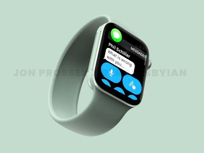 Seperti Ini Prediksi Tampilan dari Smartwatch Apple Watch Series 7 Terbaru!