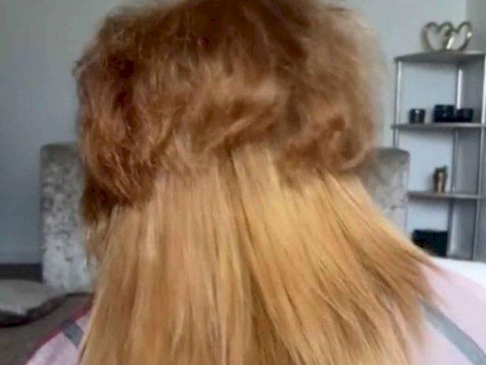 Rambut Wanita Ini Awalnya Seperti Singa, Setelah di Makeover Bikin Pangling