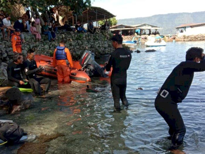 Wisatawan Tenggelam di Danau Toba, Tim SAR Gabungan Lakukan Pencarian