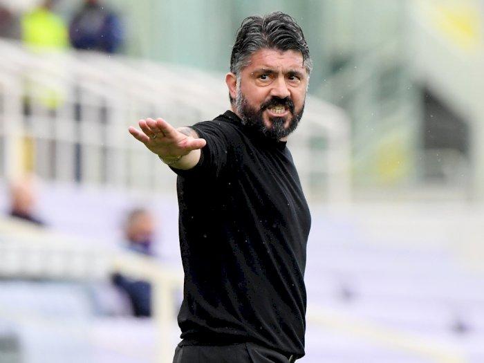 Gagal Finis di Empat Besar, Napoli Pecat Gattuso