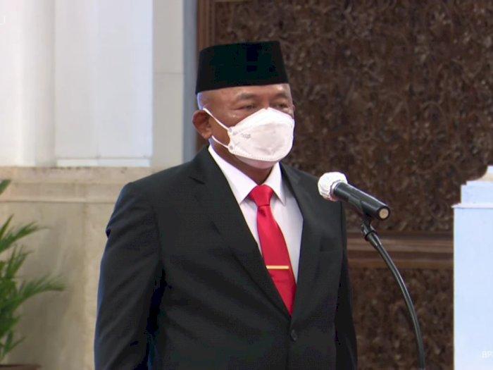 Presiden Jokowi Resmi Lantik Ganip Warsito sebagai Kepala BNPB