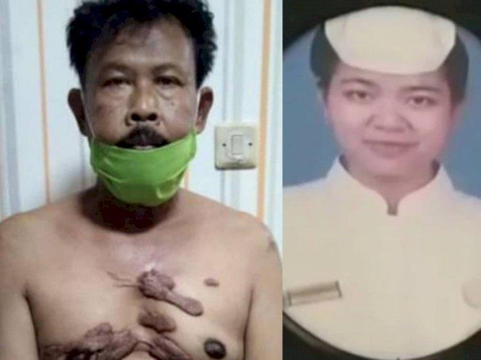 Tampang Suami Tega Bunuh Istrinya, Murka Diminta Cerai, Istri Tewas Ditusuk Pakai Pisau