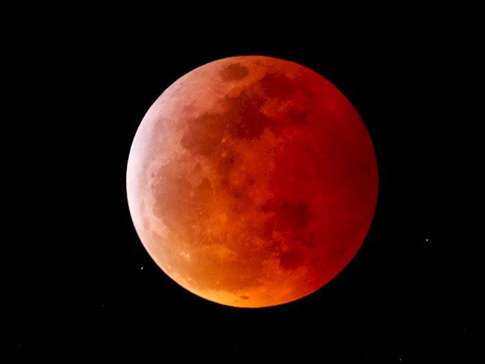 BMKG Sebut Gerhana Bulan Total Terjadi 26 Mei 2021, Ini Wilayah yang Bisa Menyaksikannya!