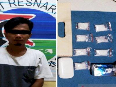 Seorang Pengedar Sabu Seberat 21,76 Gram di Banjarmasin Terancam 12 Tahun Penjara