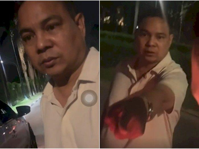 Tampang Pria Pemukul Cewek Bermobil Lexus di Pantai Indah Kapuk, Minta Maaf Sambil Ngancam