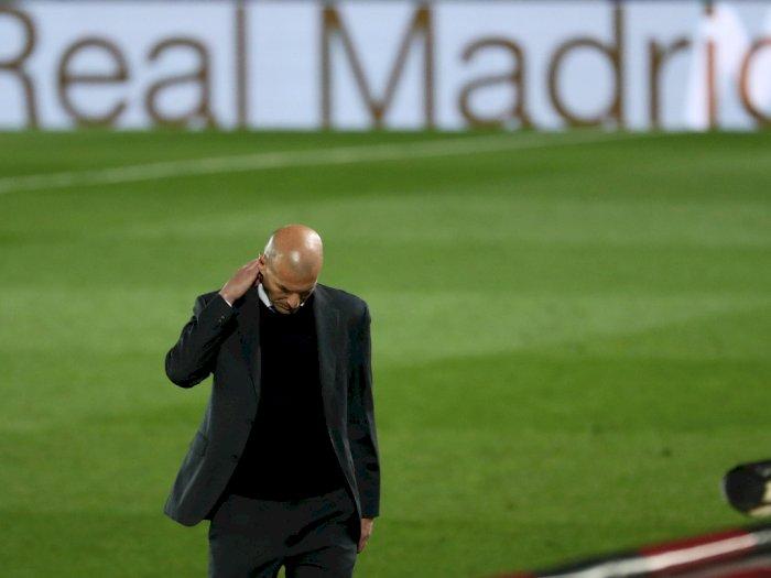 Surat Terbuka Zidane untuk Fans Real Madrid,  Beberkan Alasannya Hengkang