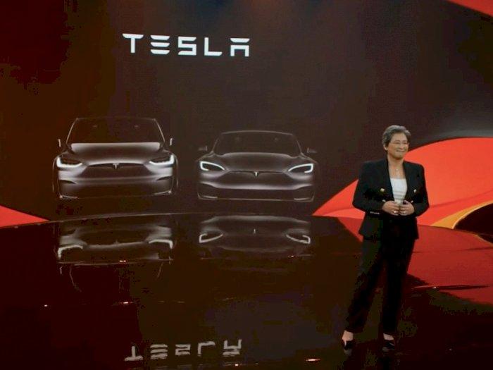 Setara PS5, Infotainment System di Mobil Tesla Terbaru Bakal Ditenagai oleh AMD!