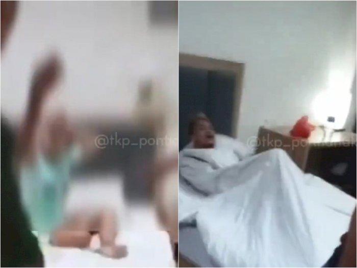 Istri Labrak Suami Selingkuh dengan Temannya, Kepergok Tak Pakai Celana Berduaan di Hotel