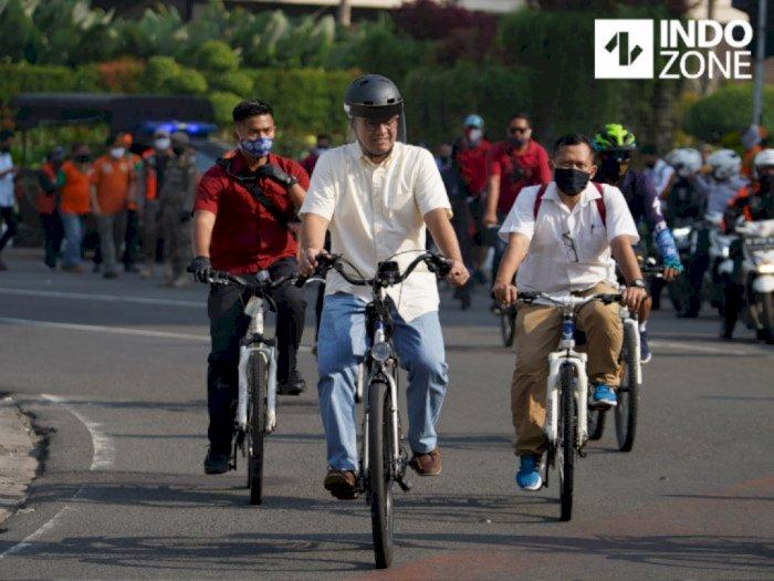 Anies Minta Sepeda Dijadikan Alat Transportasi, Bukan Cuma untuk Hobi