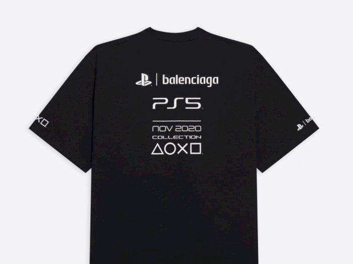 Balenciaga Jual T-Shirt PlayStation 5 dengan Harga yang Lebih Mahal dari Consolenya