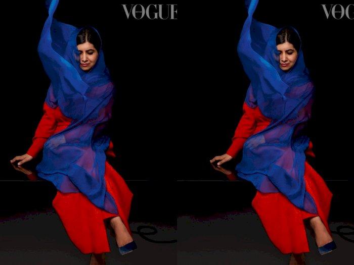 Melihat Tampilan Aktivis Malala Yousafzai yang Tampil di Majalah Vogue